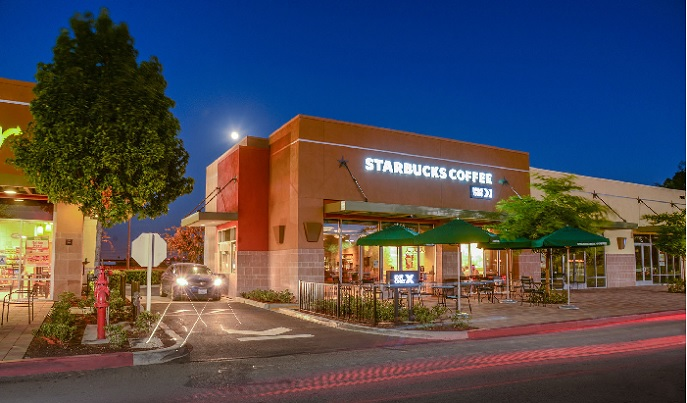 Pad to Stater Bros - Starbucks