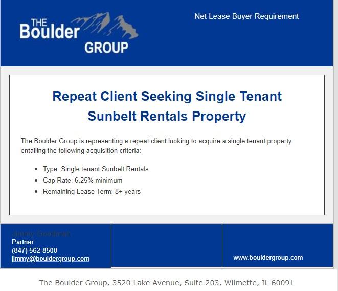 repeat-buyer-requirement-single-tenant-sunbelt-rentals