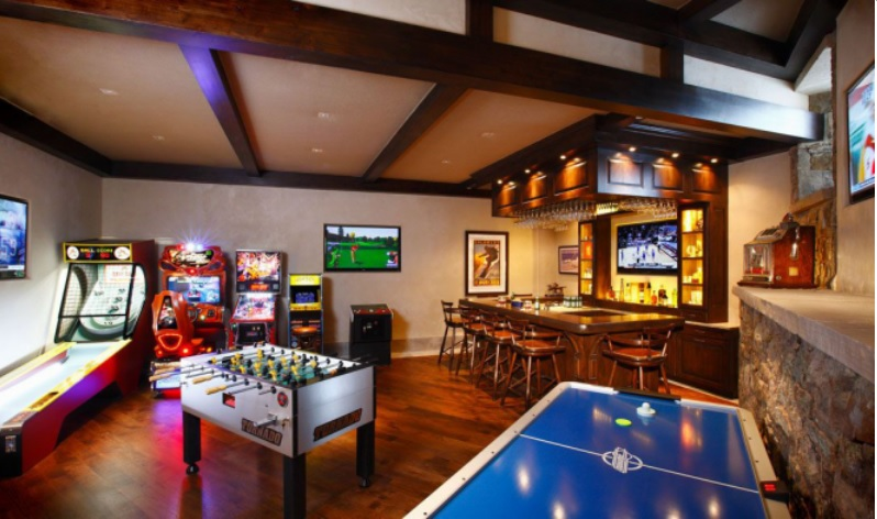How Games Rooms are Making a Comeback
