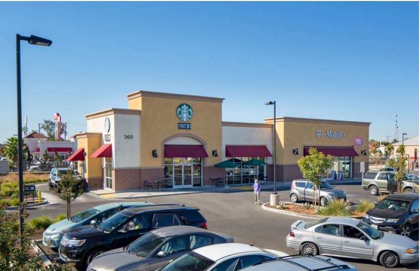 Retail Property Occupied by Starbucks and T-Mobile Sells for Record
