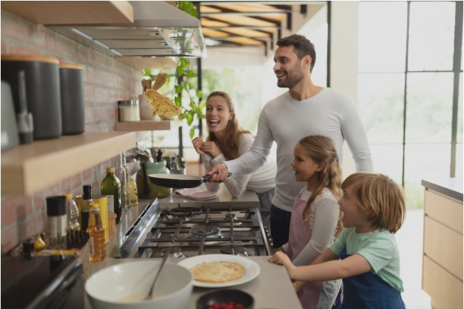 Perfect Family Kitchen