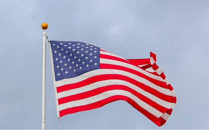 Hanging the American Flag