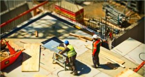 SAFETY OF WORKERS AT CONSTRUCTION SITE