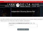 Delta Media Poll