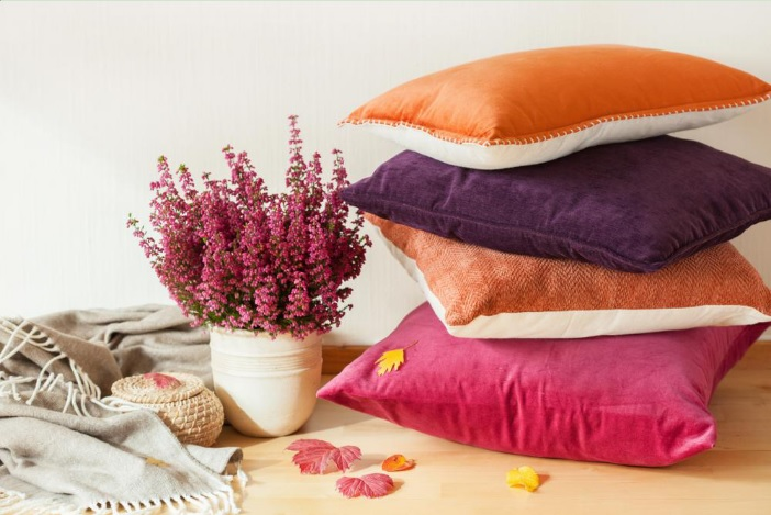 Perk up your cushions