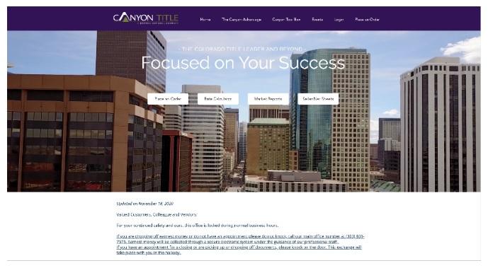 CanyonTitlewebsite