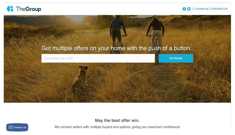 The Group - new sales platform