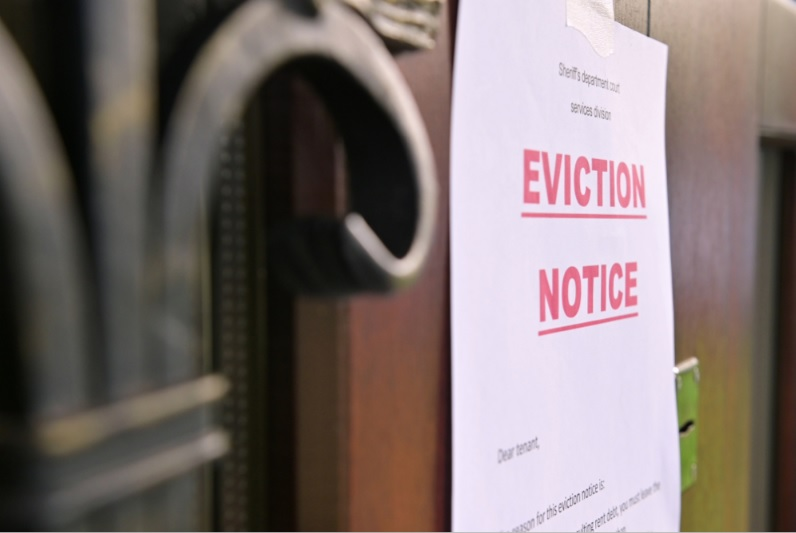 LAWFULLY EVICT A TENANT