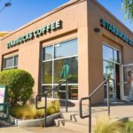 Starbucks in Culver City, California