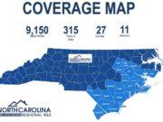 NCRMLS - Market Coverage Map